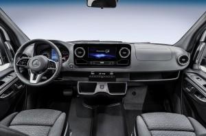 noul Sprinter interior